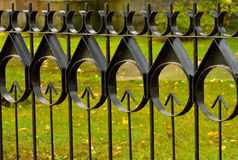 Iron fence Royalty Free Stock Photo