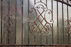 Iron fence Stock Image