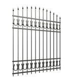 Iron fences Royalty Free Stock Photos