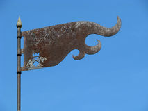 Iron Flag Stock Photo