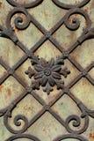 Iron flowers. Background royalty free stock image