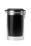 Iron food container with cover Stock Photography