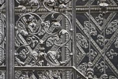 Iron forged grid Royalty Free Stock Images