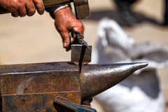 Iron forging Stock Photography