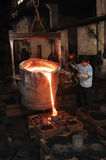 Iron foundry Royalty Free Stock Photography