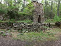 Iron Furnace Built in the 1800's Royalty Free Stock Photography