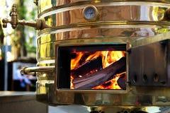 Iron furnace Stock Photo