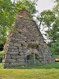 Iron Furnace at Foster Falls Historic Village stock photography