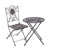 Iron furniture, suite Royalty Free Stock Photos