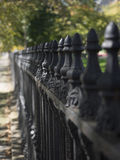 Iron Garden Fence Royalty Free Stock Photography