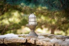 Iron garden Lamp Royalty Free Stock Photography