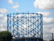 Iron Gas Holder Stock Photography