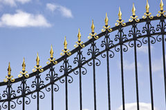 Iron Gate Royalty Free Stock Photography