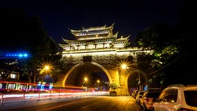 The Iron Gate arch in Wuhan royalty free stock images