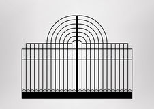 Iron gate. Stock Photos