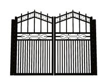 Iron gate Royalty Free Stock Photos