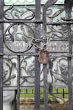 Iron gate Royalty Free Stock Image