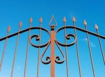 Iron gate stock photography