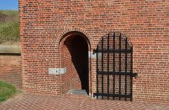 Iron gate. At Fort McHenry Royalty Free Stock Photos