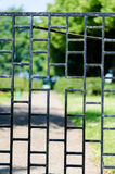 Iron gate Royalty Free Stock Images
