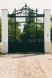 Iron gate Royalty Free Stock Photo