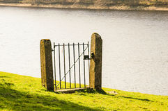 Iron Gate by Lakeside Stock Photo