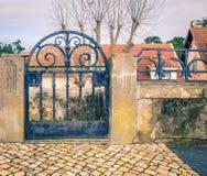 Iron gate portugal Royalty Free Stock Photo