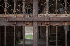 Rustic Iron Gate Royalty Free Stock Photo