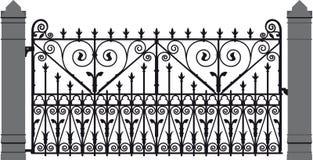 Iron gate 3 Royalty Free Stock Photo