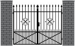 Iron gate 4 Stock Photography