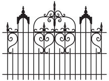 Iron Gates Stock Photography
