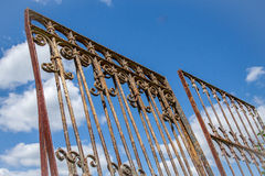 Iron Gates in the Sky Royalty Free Stock Photos