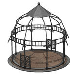 Iron gazebo circular Stock Photography
