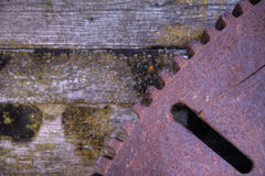 Iron Gear Stock Photo
