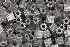 Iron gears Stock Image