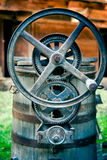 Iron gears Royalty Free Stock Images