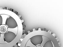 Iron gears Royalty Free Stock Photo