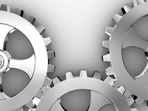 Iron gears Royalty Free Stock Photos
