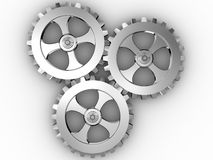 Iron gears Stock Image