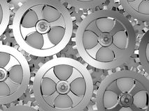 Iron gears Stock Photography