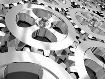 Iron gears Stock Photos