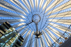 Iron and Glass Roof Stock Photography