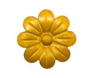 Iron Golden Flower Stock Photo