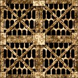 Iron grate Royalty Free Stock Image