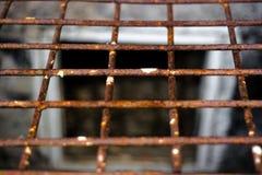 Iron grate, prison royalty free stock image