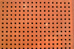 Iron grate texture. D background with square holes stock photos