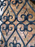 Iron grille Royalty Free Stock Images