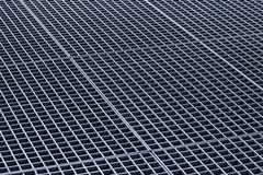 Iron gutter grates and metal vent grids Royalty Free Stock Photo