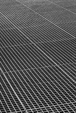 Iron gutter grates and metal vent grids Royalty Free Stock Photography