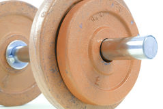 Iron Gym Weight Stock Image